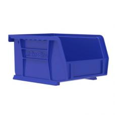 Akrobin 30210 Stackable Storage Bin 5-3/8 x 4-1/8 x3 Blue
