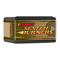 "Barnes Match Burner Bullets 6.5mm .264"" Diameter 120 Grain Boat Tail box of 100"
